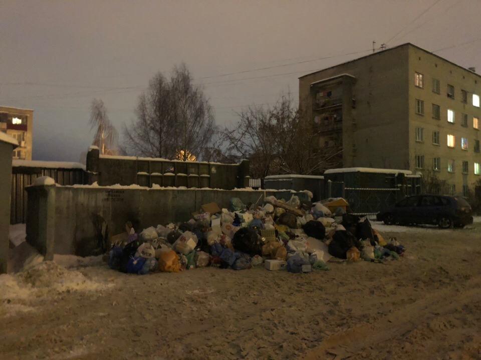 Проблемы с вывозом мусора в Твери