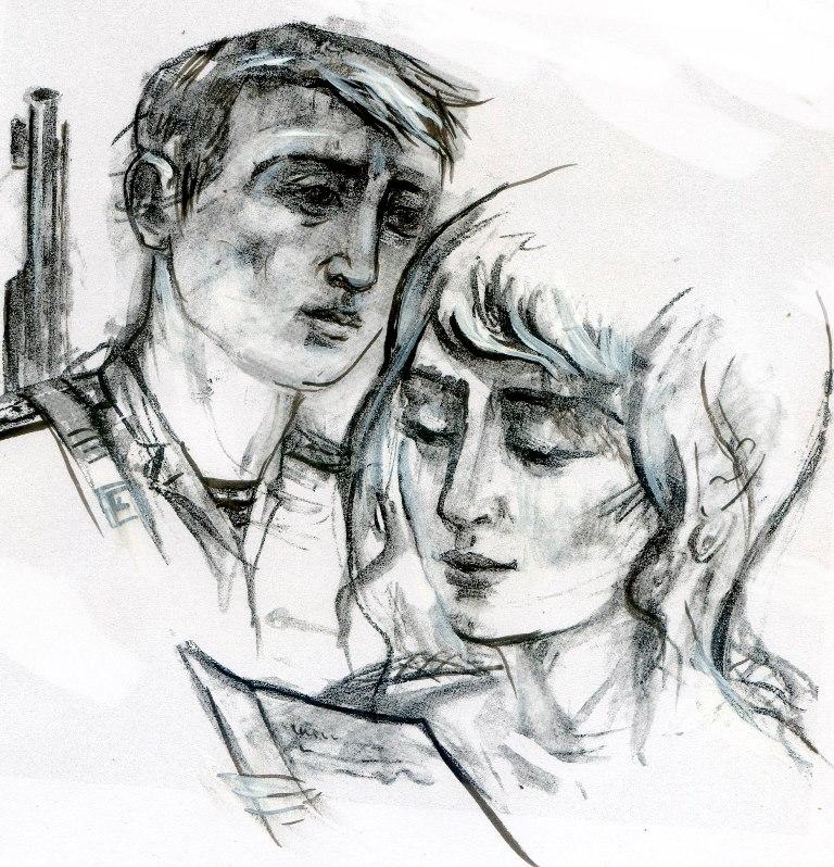 Иллюстрации Олега Хомутова